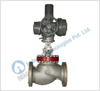 Motorized Gate & Globe Valves
