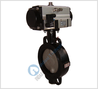 Pneumatic Actuated Butterfly Valves